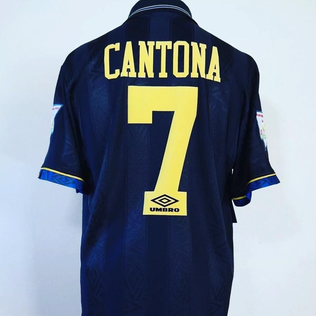 Ce maillot manchester united a été signé par eric cantona le 8 avril 2021 à martigues, france. 1993-1995 Manchester United Away Shirt L CANTONA #7 89.99 ...