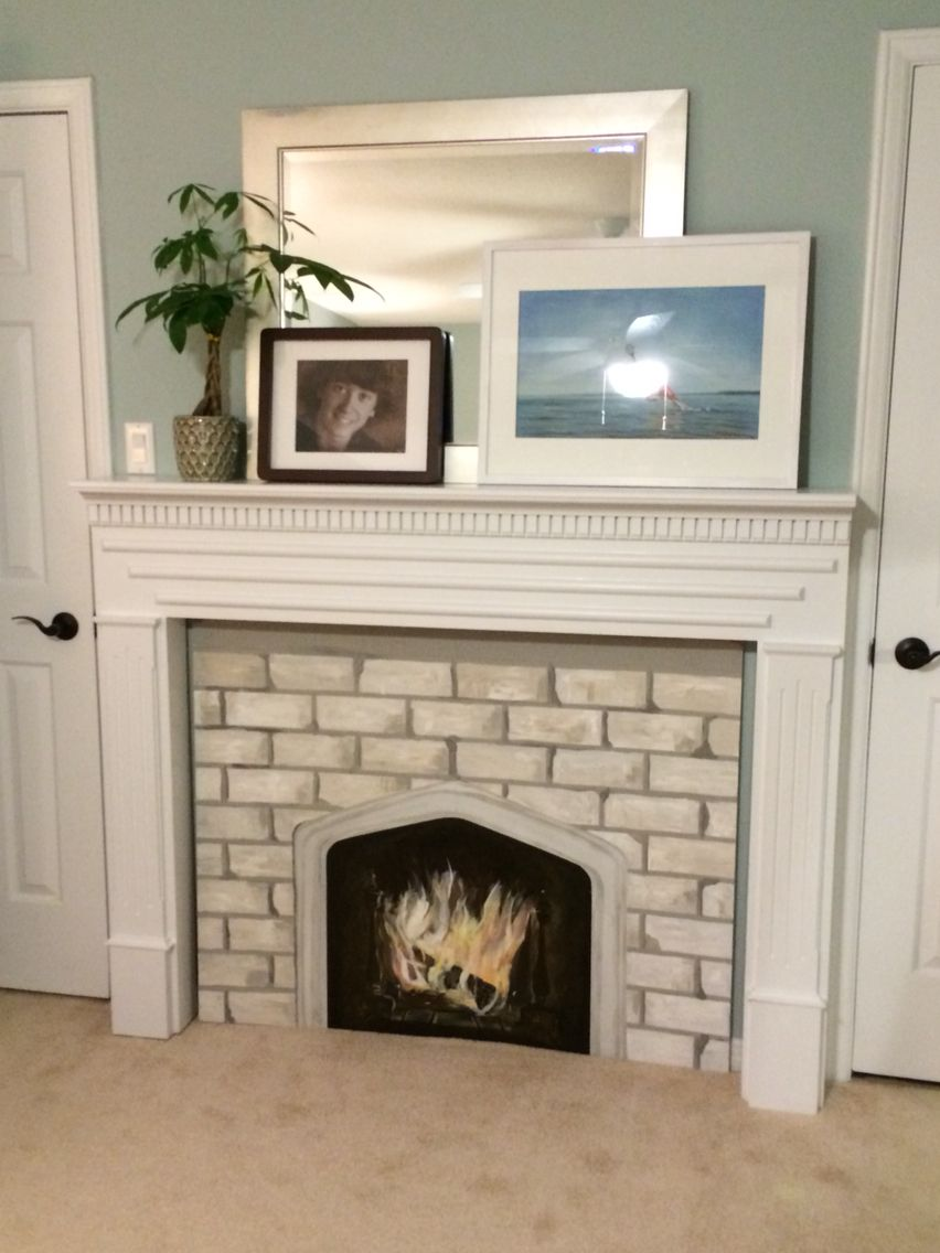 I wanted a fireplace in our master, so I purchased a