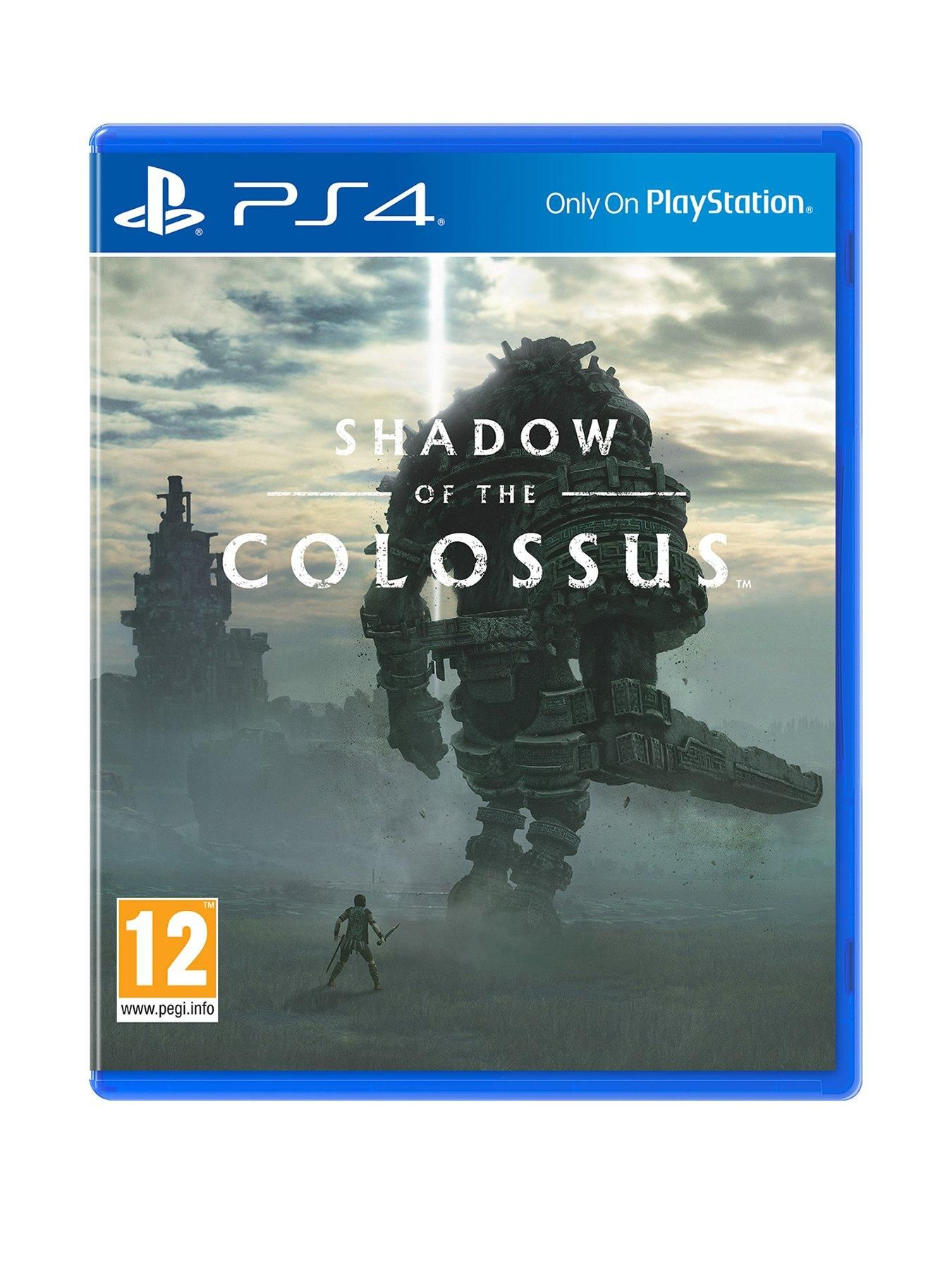 Playstation 4 Shadow Of The Colossus Ps4 In One Colour Shadow