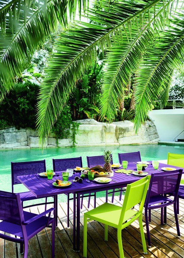 Salle manger de jardin notre s lection outdoors salle manger jardin mobilier jardin - Salle a manger de jardin ...