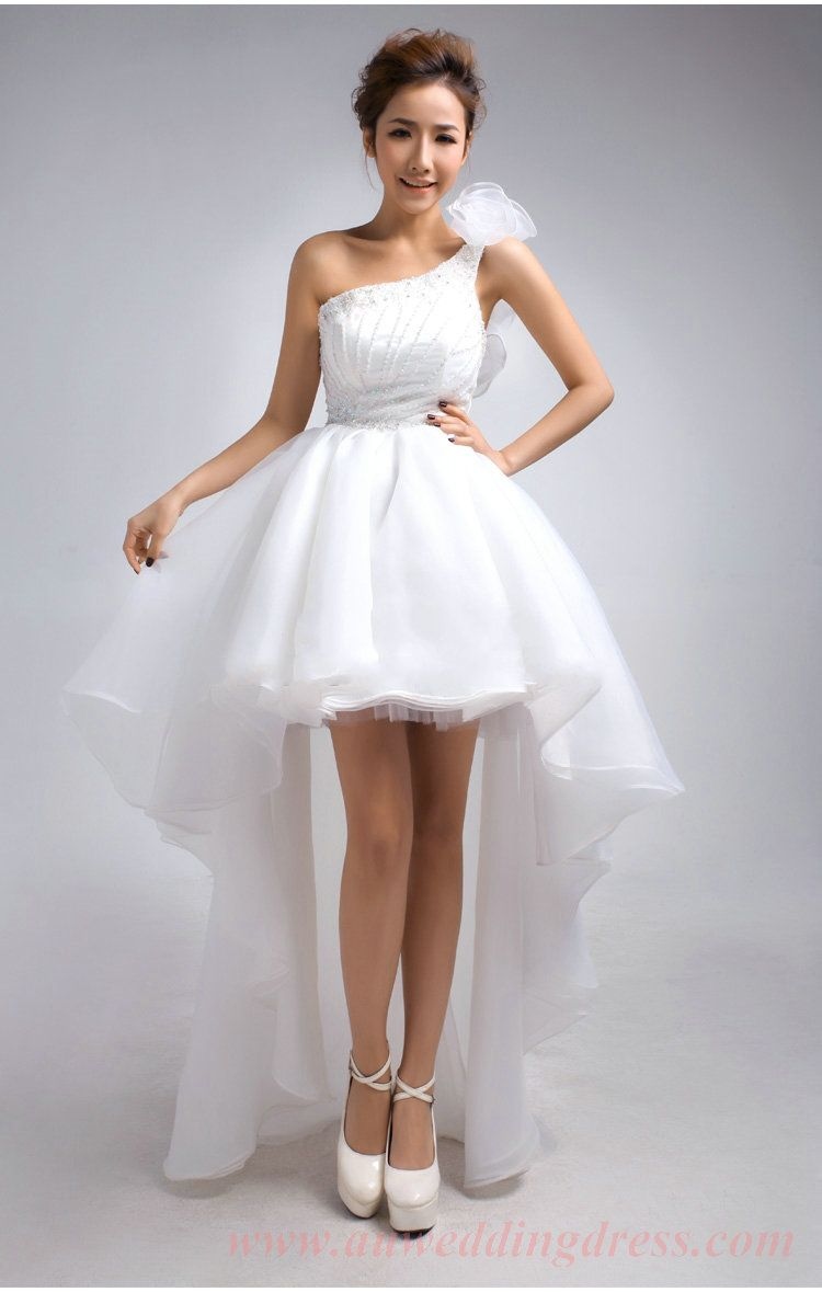 High low wedding dresses cheap  High Low Wedding Dress  Wedding Dress  Pinterest  High low