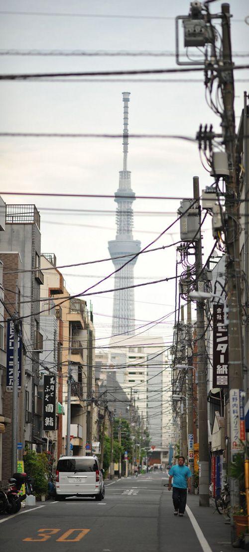 Los cableados eléctricos de Japón