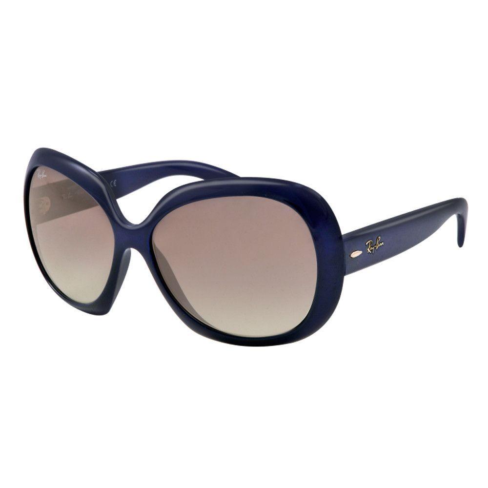 Ray-Ban RB 4098 6011-11 60 Women\'s Bordeaux Blue Frame Grey Lenses ...