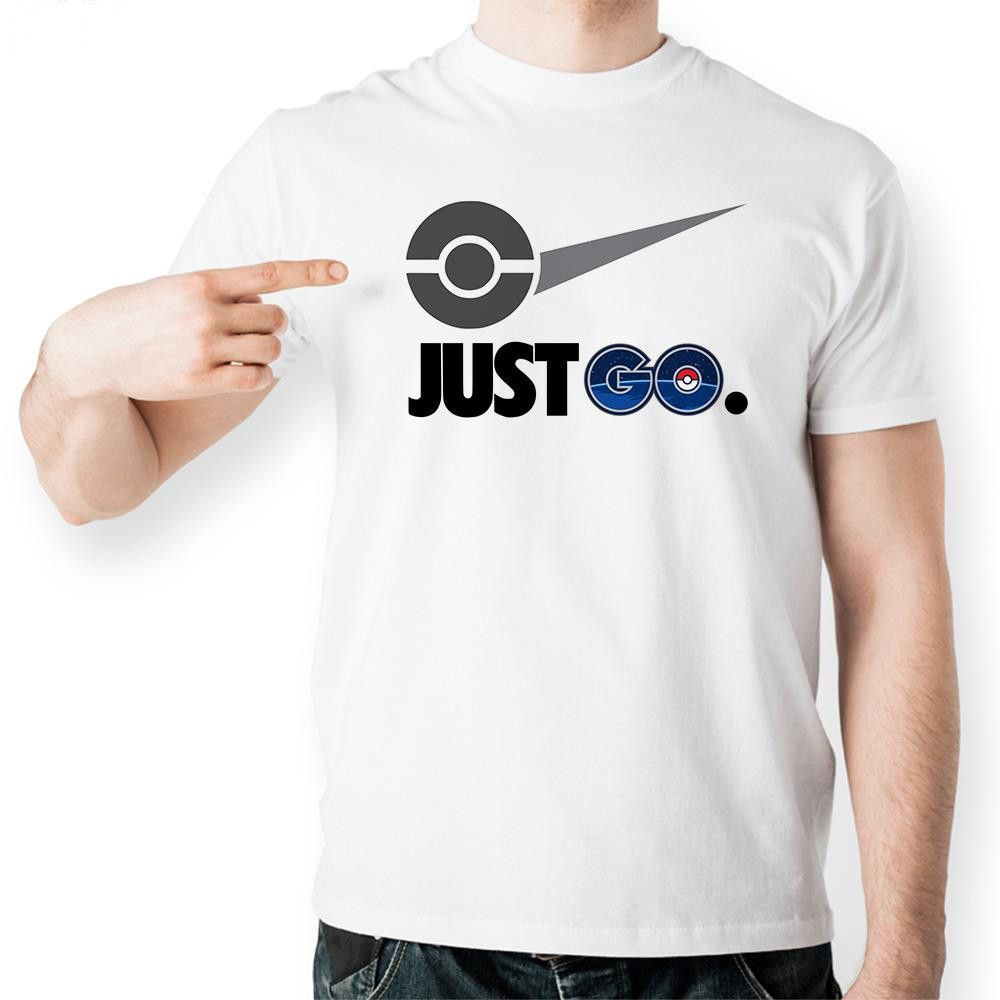 Pokemon Go T-Shirt Mock on a Famous Logo