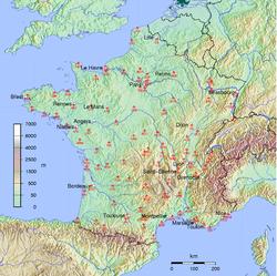 Burger King Carte Geographique.Carte Burger King En France Burger Le Havre Brest Et Toulon