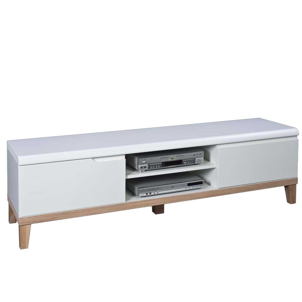 TV Lowboard in Weiß 180 cm Jetzt bestellen unter: https://moebel ...