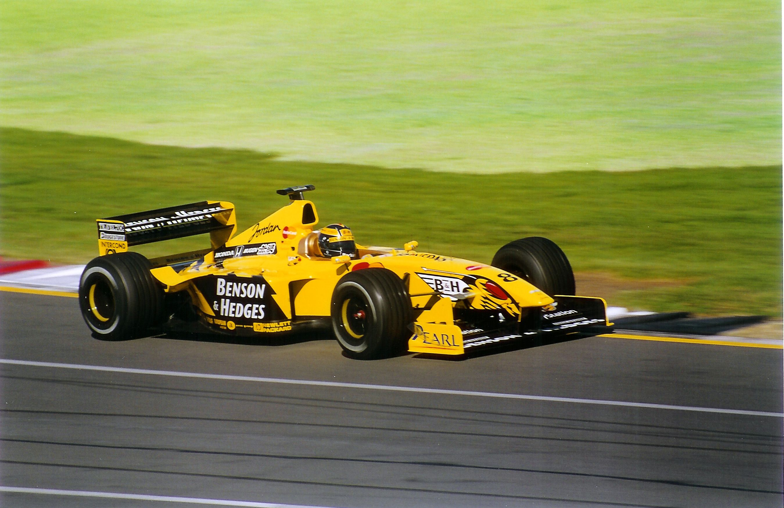 Heinz-Harald Frentzen - 1999 Jordan-Mugen-Honda   Racing, Eddie jordan,  Midland
