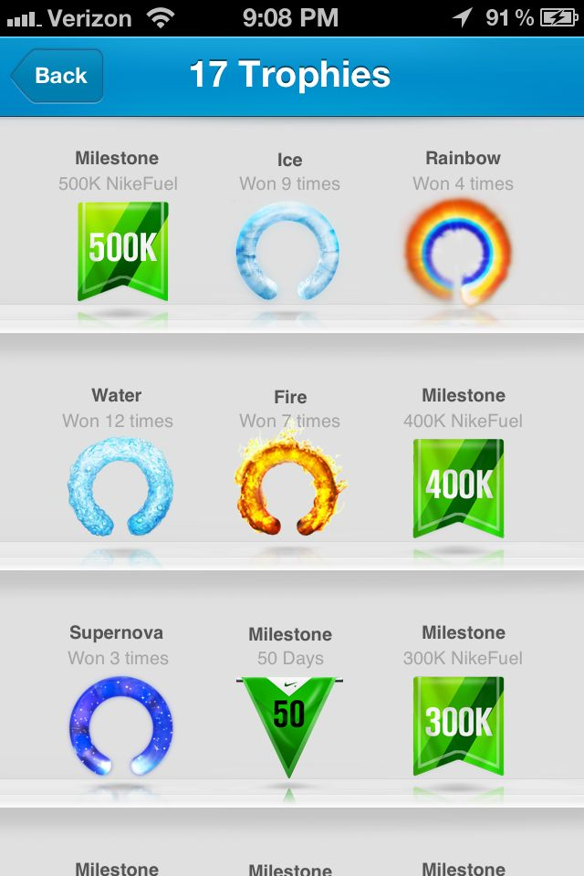 View a list of the unlockable Nike Plus running badges and trophies and  their requirements to receive these Nike+ rewards. Find this Pin and more  ...
