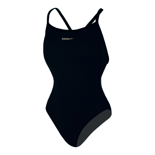 4e90feee42f88 Speedo Endurance Plus Hydro Bra Women s One Piece Swimsuit - 001 BLACK