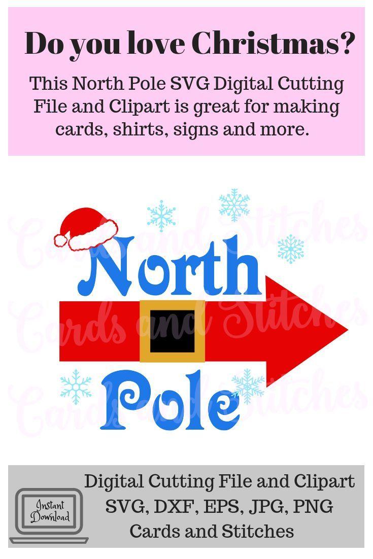 Christmas Arrow Png.Christmas Svg North Pole Arrow Svg Santa Claus Clipart