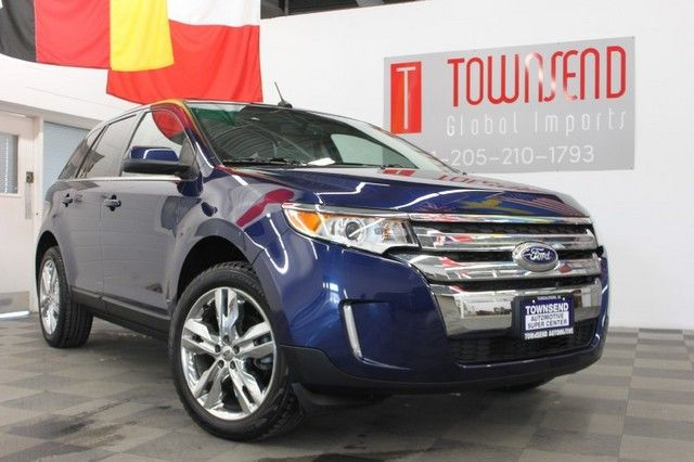 2012 Ford Edge Limited Exterior Dark Blue Pearl Metallic Interior