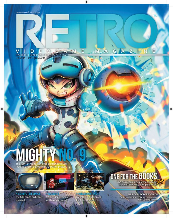 RETRO: A New RETRO Gaming Magazine by Mike Kennedy featuring Might
