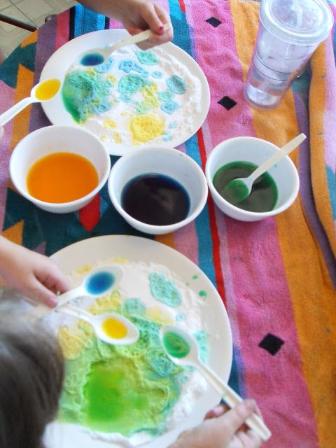 Baking Soda Vinegar Food Coloring