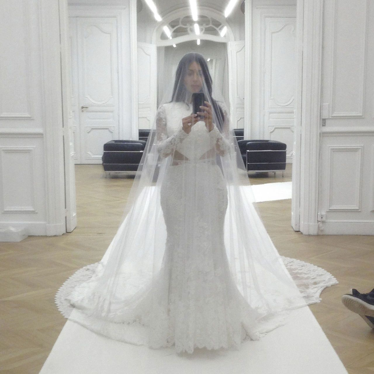 A Day In The Life Of Kim Kardashian First Look At Kardashian's Book Selfies 'selfish': Kim Kardashian Wedding Dress Replica At Reisefeber.org