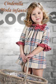 84c192663ece Cocote vestido cuadros volante topos