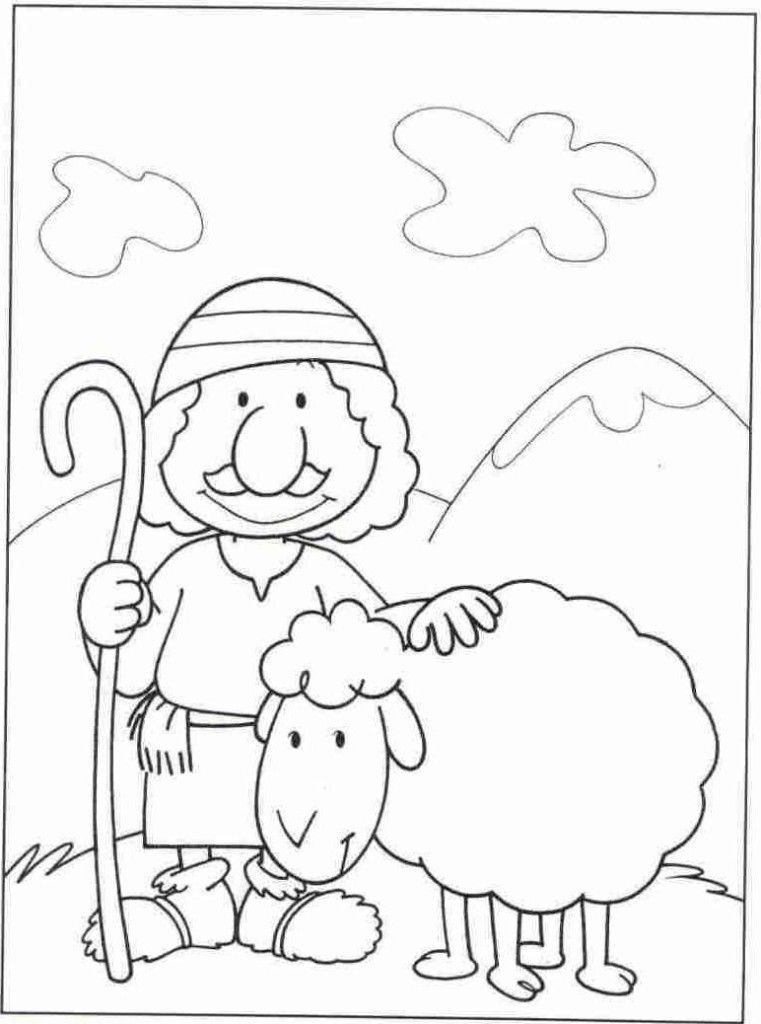 #baby #coloring #jesus #pages #shepherds #visit #2020