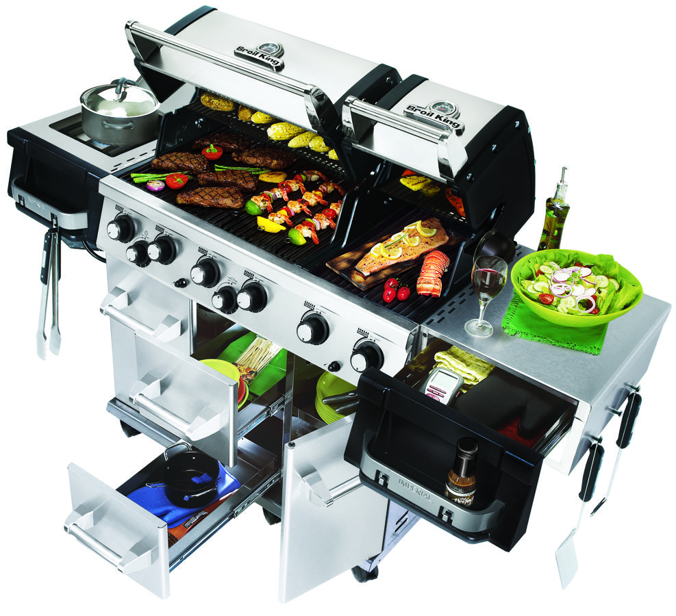 Broil Gasgrill Gasgrill Imperial 690 Xl Von Broil King Feuerdepot De Easy