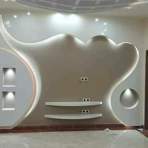Pin By Mohamad On My Board In 2020 House Ceiling Design Ceiling Design Modern Tv Wall Decor