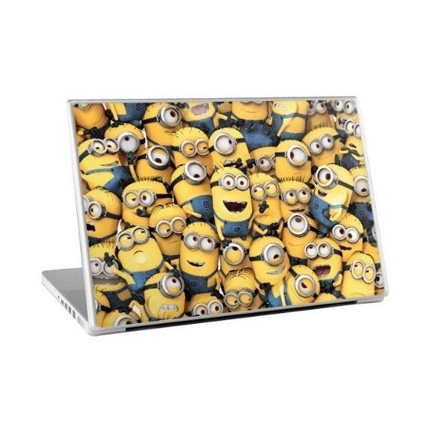 Zing Revolution Despicable Me 2 Minion Group Laptop Cover Skin for... (7.25 CAD) ❤ liked on Polyvore featuring accessories, tech accessories, other, tech and laptop sleeve cases