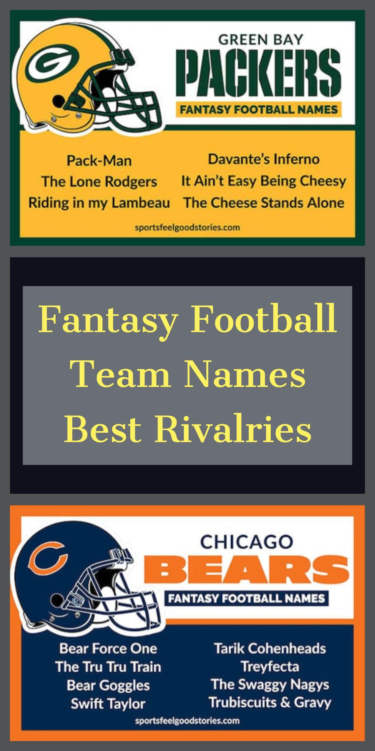125 Funny Fantasy Football Team Names (2021)