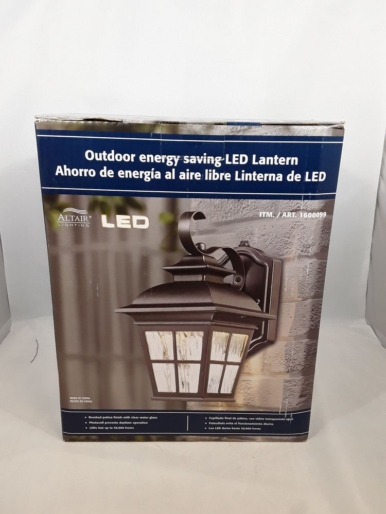 new altair outdoor energy savings led