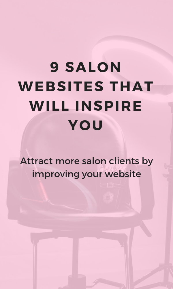 Salon Website Inspiration 9 truly great salon websites to inspire you - Beauty salon marketing, Hair salon marketing, Salon website, Salon quotes, Salon marketing, Salon advertising - If you're looking for ideas for how to make your salon website even more beautiful and functional, here are 9 salon websites to inspire you