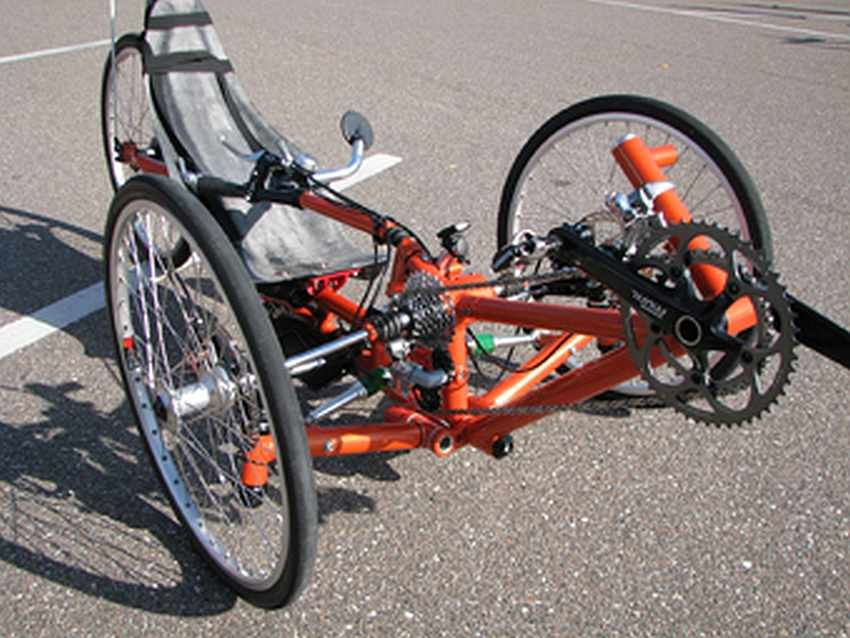 Front Wheel Drive Tadpole Trikes By David Bruce Trike Bicycle