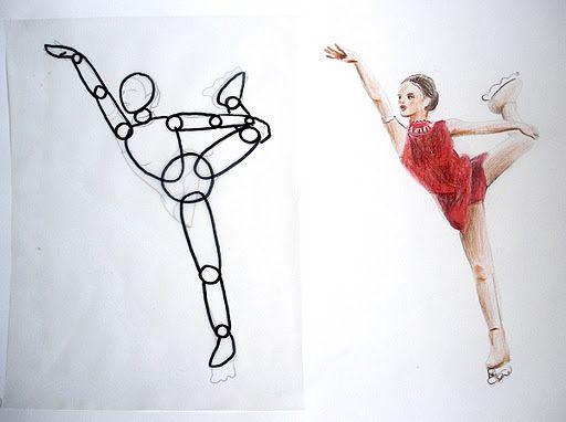 La figura umana in movimento corpo dessin aquarelle for Programma per disegnare stanze
