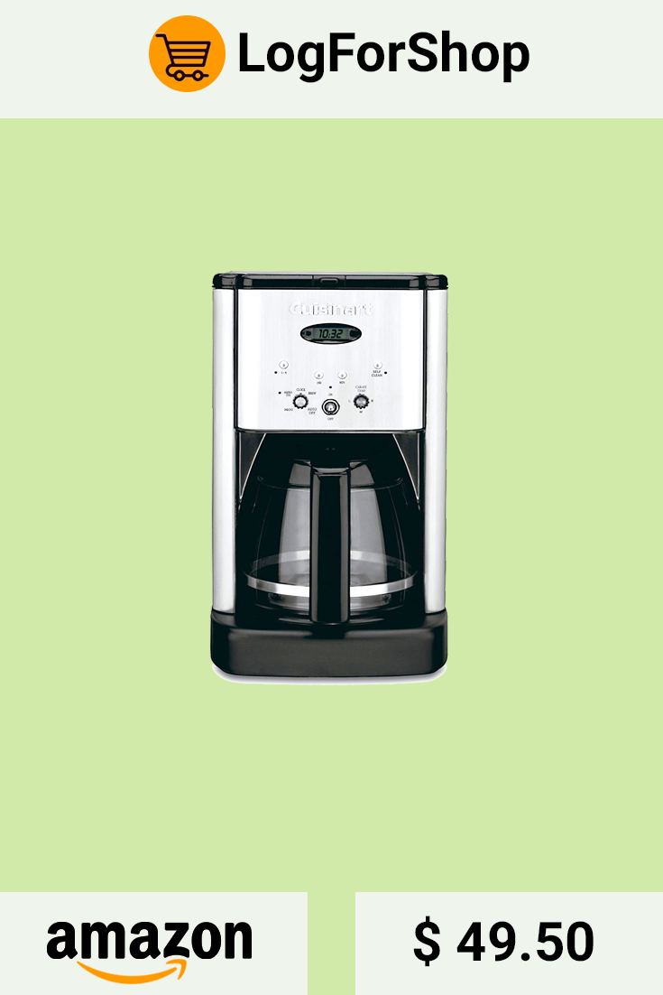 With Cuisinart Being The Leading Manufacturer Of Home Appliances This Brand Of Coffee Makers Is No Doubt The Coffee Maker Coffee Maker Reviews Coffee Branding