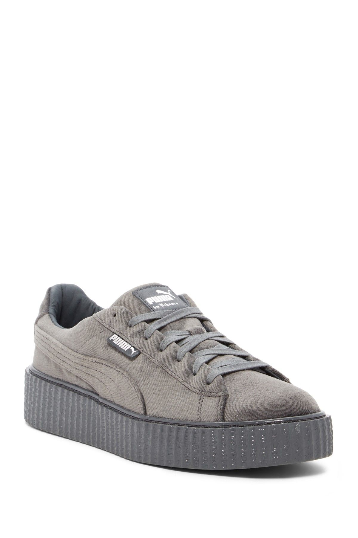 new products e6a9e d96c8 FENTY PUMA by Rihanna Velvet Creeper Leather Sneaker (Unisex ...