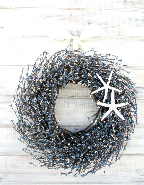 images front large by heather door covered coast beach coastal highland wreaths best on doors wreath girls