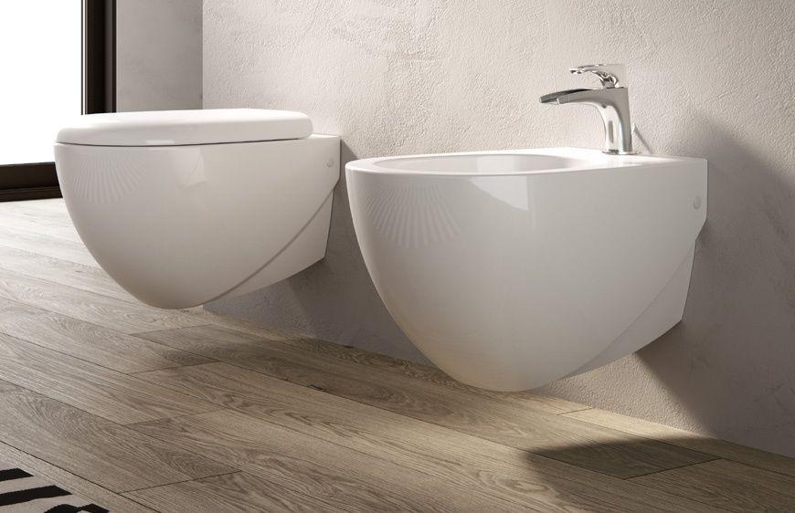 Vasca Da Bagno Hidra : Hidra ceramica sanitari sospesi abc in bianco opaco ceramiche di