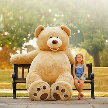 93 Plush Bear With Images Huge Teddy Bears Giant Teddy