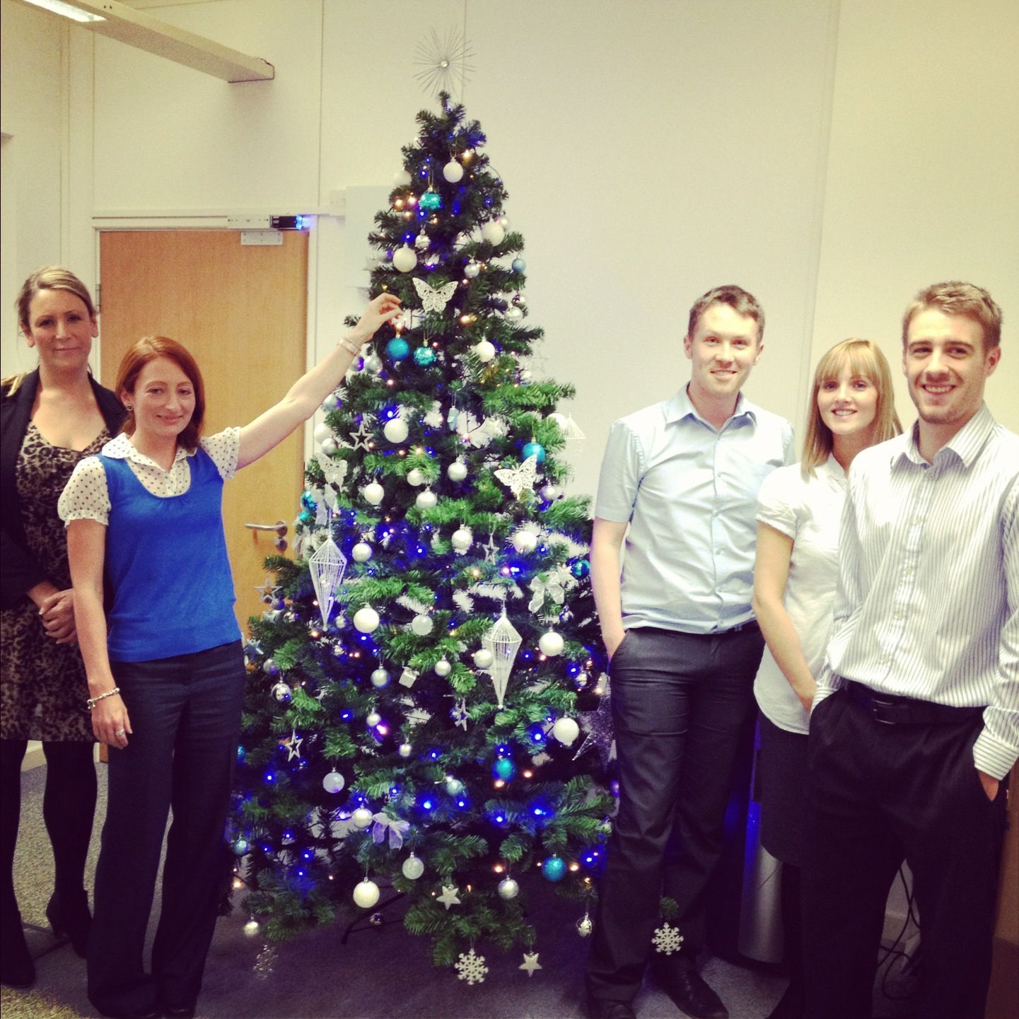 We now have the Communicator Corp #Christmas tree up and we're feeling festive! #Merrychristmas