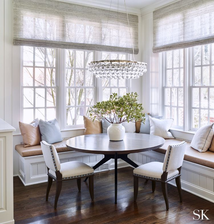 Top 10 Favorite Beautiful Breakfast Rooms Design Chic Neutral Dining Room Dining Nook Dining Room Design