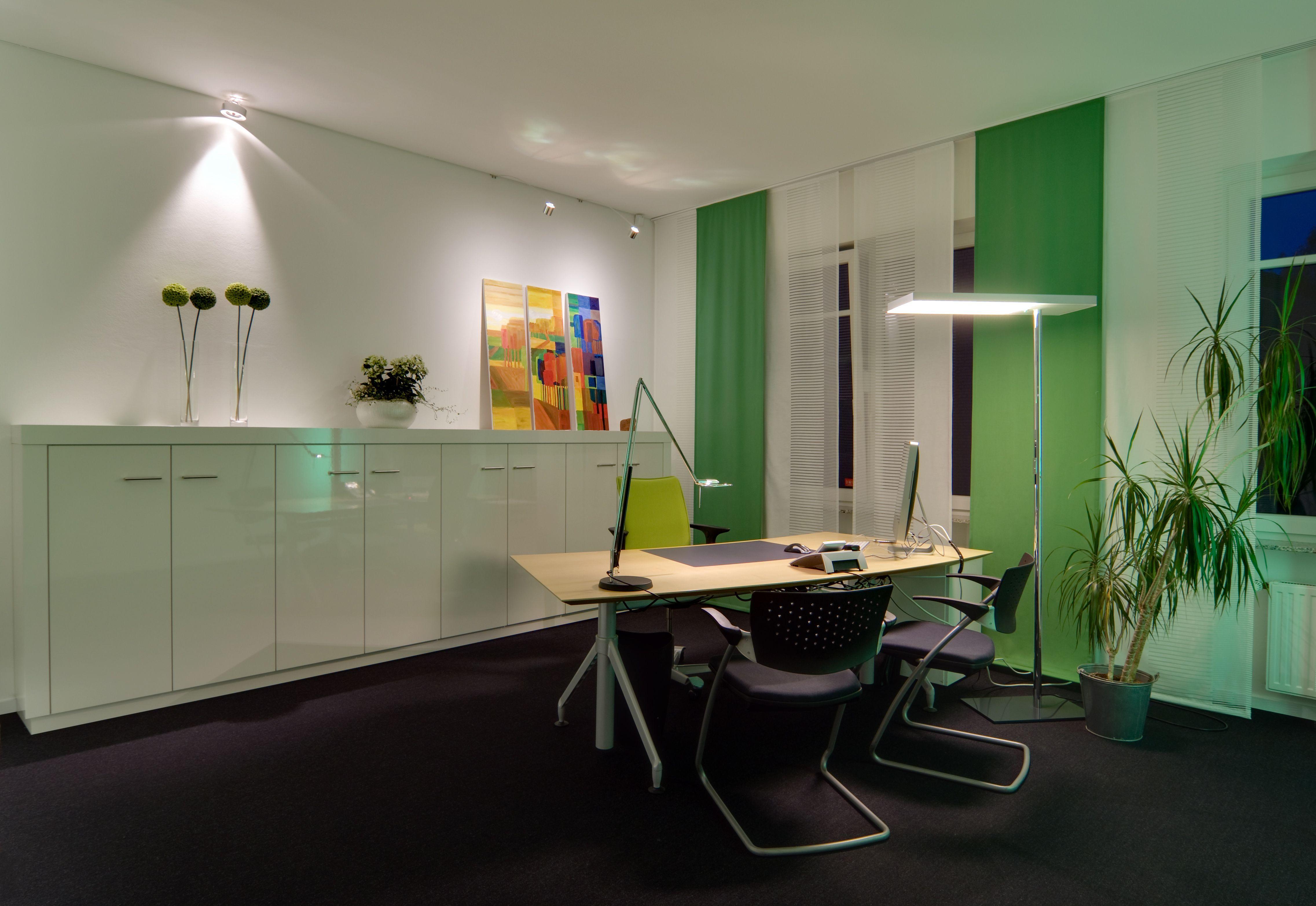 Licht Büro direktes und indirektes licht werden zu einem stimmigen lichtkonzept