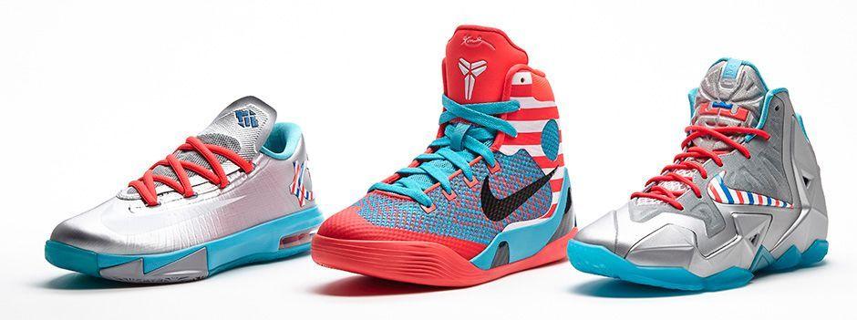 Nike Basektball Kids Collection - KD Kobe Lebron / Barbershop