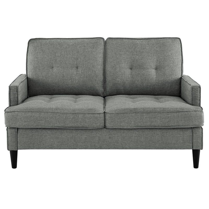 Zipcode Design Celestyna Loveseat Reviews Wayfair Love Seat Modern Loveseat Mid Century Modern Loveseat