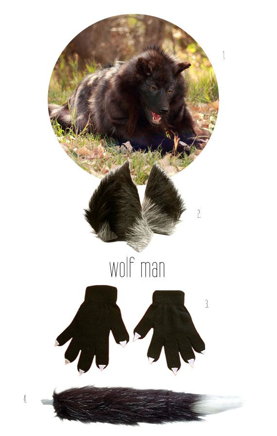 DIY wolf man costume  sc 1 st  Pinterest & Creatures of the Night: Ideas for Spine-Chilling Costumes ...