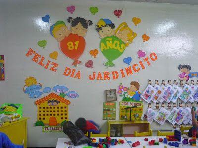 Recursos Para Educación Inicial Dia De La Educacion Mural