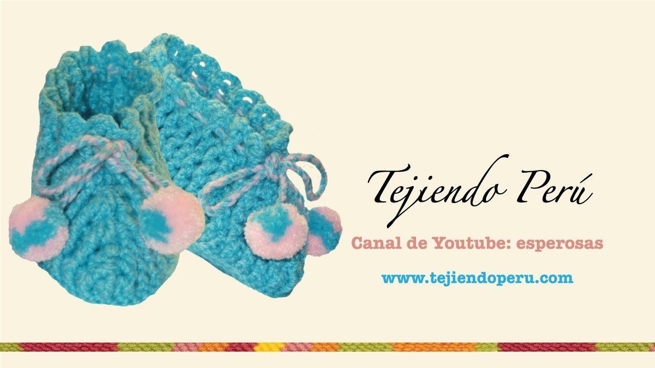 Pantuflas tejidas en crochet (tamaño estándar para adulta) | Videos ...