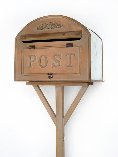 Letter box stand