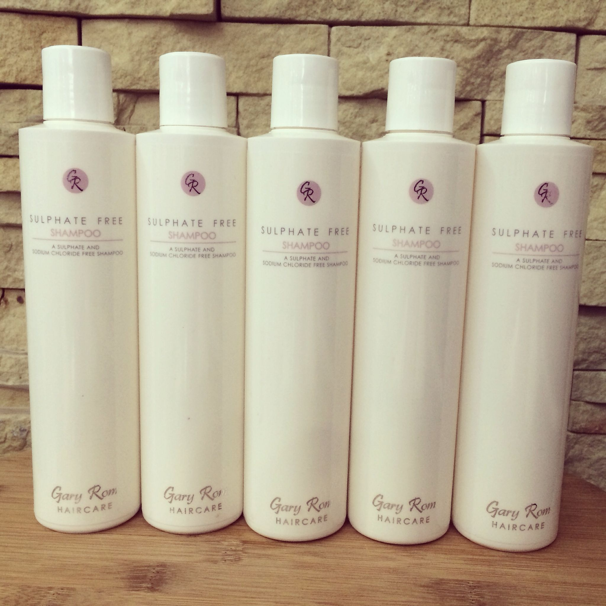 Gary rom haircare sulphate free shampoo a sulphate and