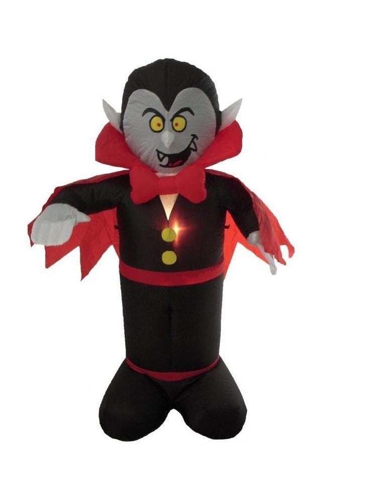 4 Foot Halloween Inflatable Dracula Vampire Yard Decoration - halloween inflatable decorations