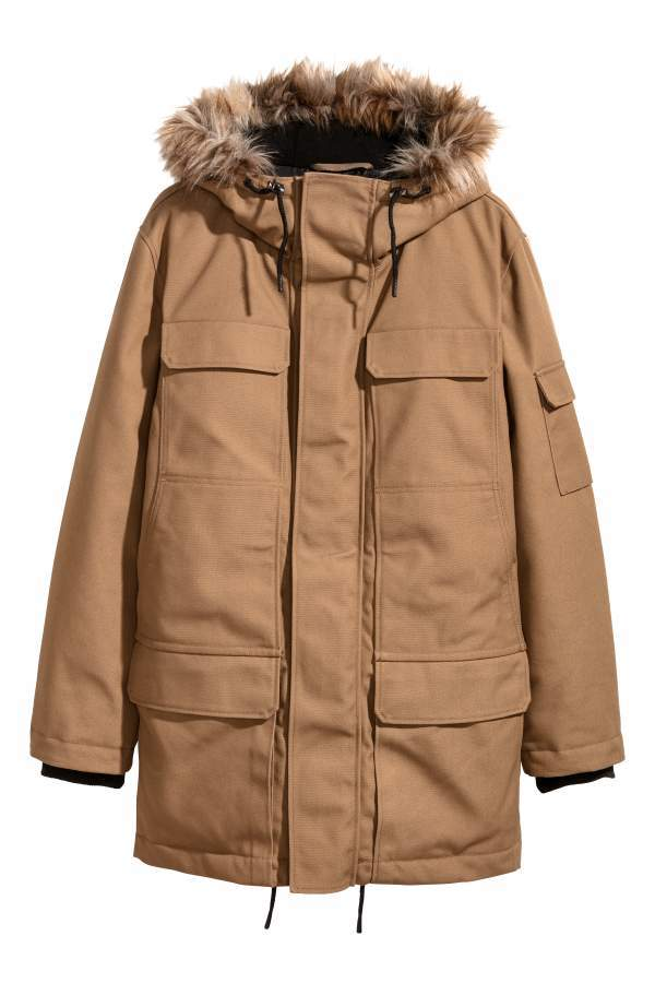 01d5c7bc8 H&M Warm-lined Parka | Products | Parka, Winter jackets, Jackets