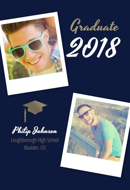 Free Printable Graduation Announcement Templates Greetings Island