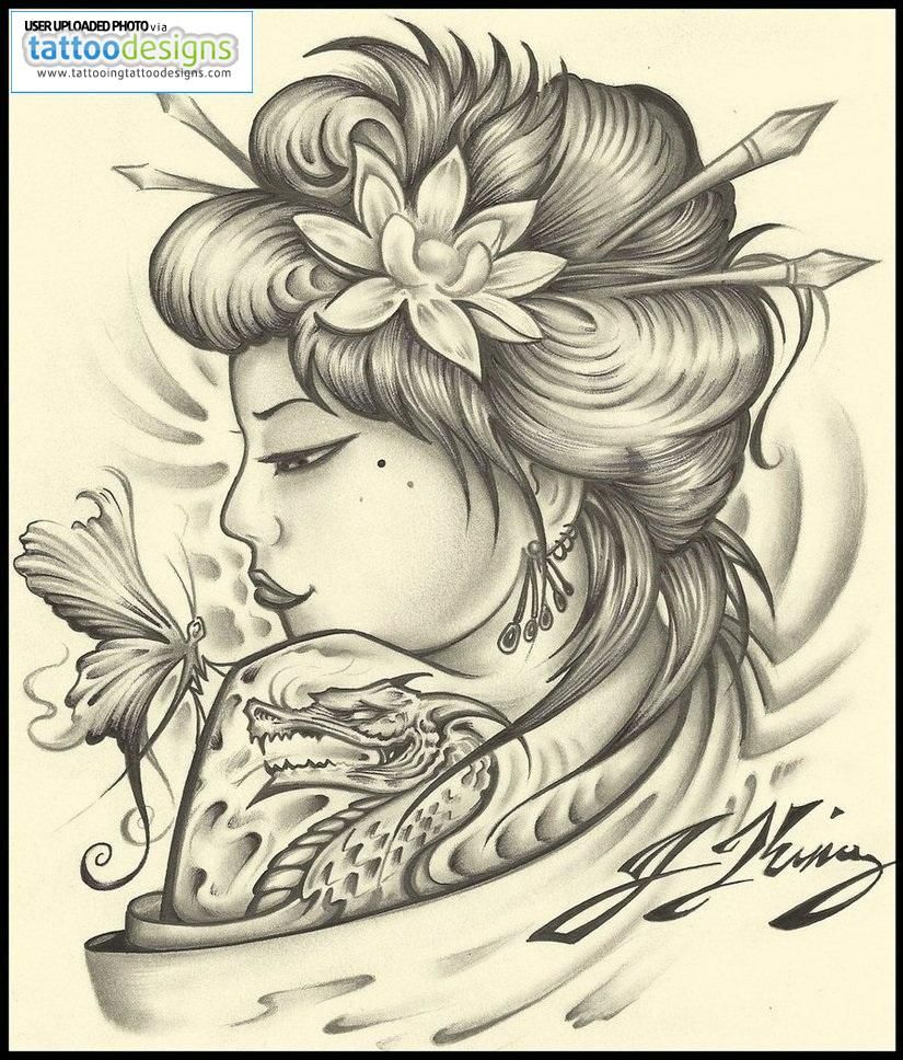 geisha tattoo designs geisha tattoo by jksart image tattooing designs free download tattoo. Black Bedroom Furniture Sets. Home Design Ideas