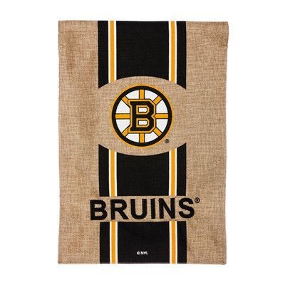Evergreen Enterprises, Inc Gar Banner Flag NHL Team: Boston Bruins