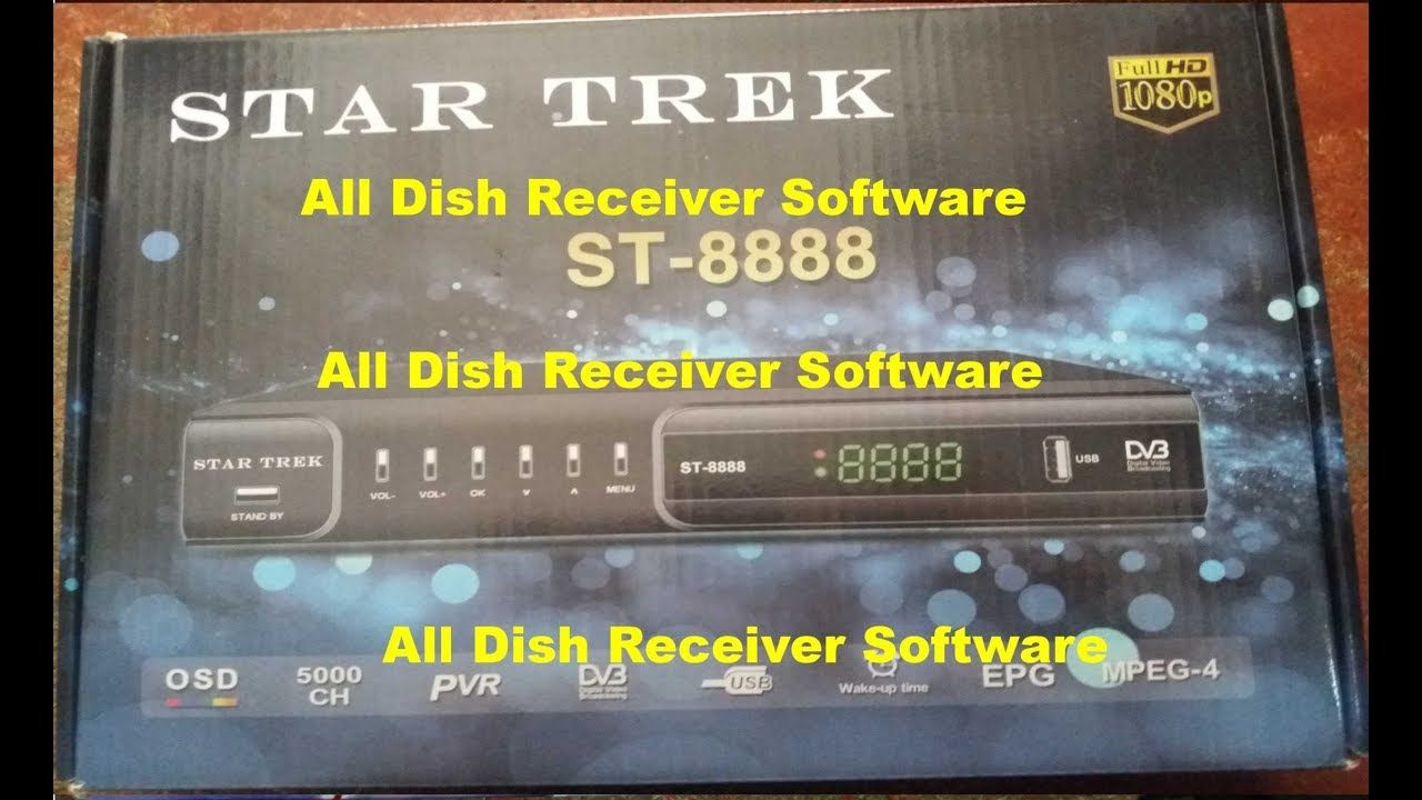 STAR TRACK ST 8888 HD RECEIVER AUTO ROLL BISS KEY NEW SOFTWARE | All