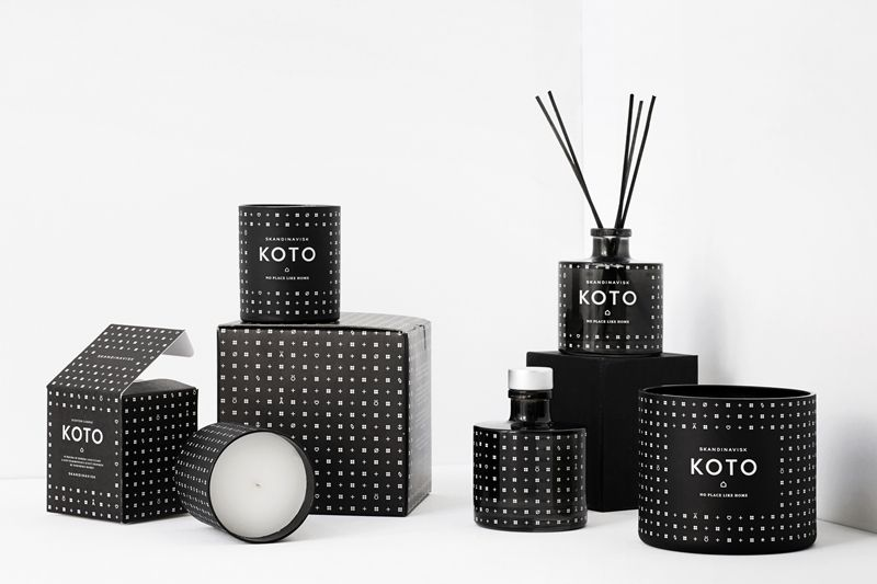 KOTO collection candles and reed diffuser. Available here: http://www.lamaisondannag.com/fr/41_skandinavisk